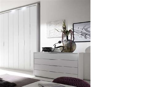 Commode Chambre Adulte Design by Commode Design Blanche Et Chrom 233 Chambre Adulte