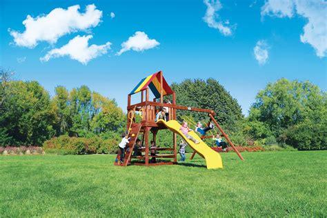 backyard play systems rainbow play systems san antonio outdoor playsets wooden swingsets corpus christi