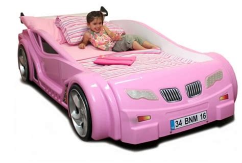 girls car bed pink girl s car bed hot rods motors everything that