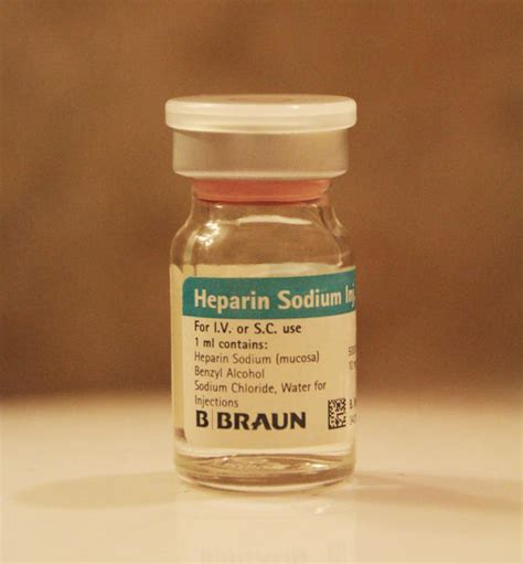 Inviclot Heparin Sodium Injection what is the difference between heparin sodium and heparin calcium things you didn t