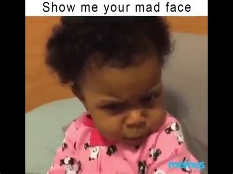 show   mad face cute funny baby youtube