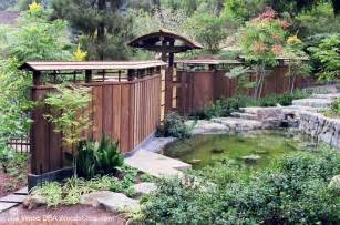 Japanese Garden Gates Ideas Japanese Fence Plans