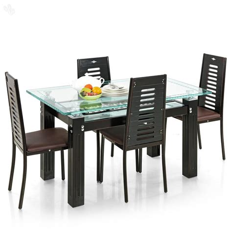 4 seater table and chairs dining table designs 4 seater