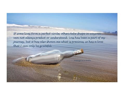 quotes message in a bottle quotesgram