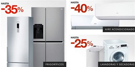 el corte ingles electrodomesticos frigorificos ofertas en tecnolog 237 a hogar e inform 225 tica en el corte