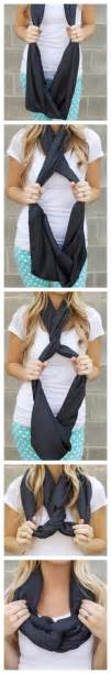 Ways To Tie An Infinity Scarf 17 Best Images About Scarf Tying On Tie A Bow