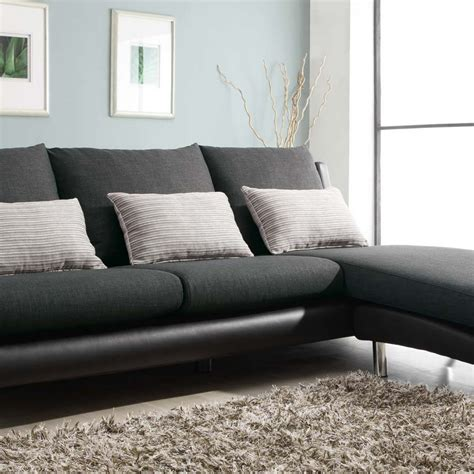 sofa with chaise and sleeper sofa sleeper with chaise sterling beige memory foam