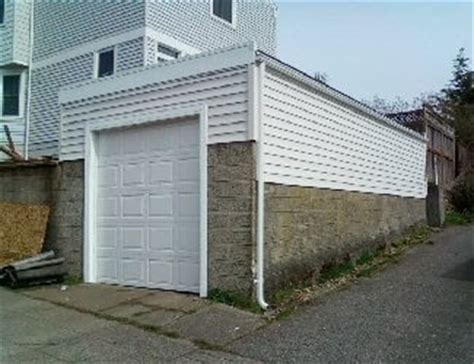 garage roof design new garage with flat roof design to increase ceiling height while preserving the neighborhood s