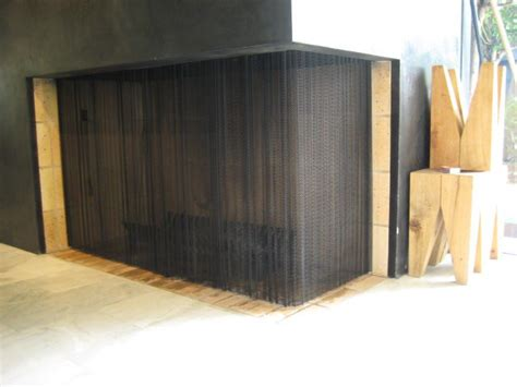 mesh curtain fireplace screen mesh curtain fireplace screen 28 images mesh curtain