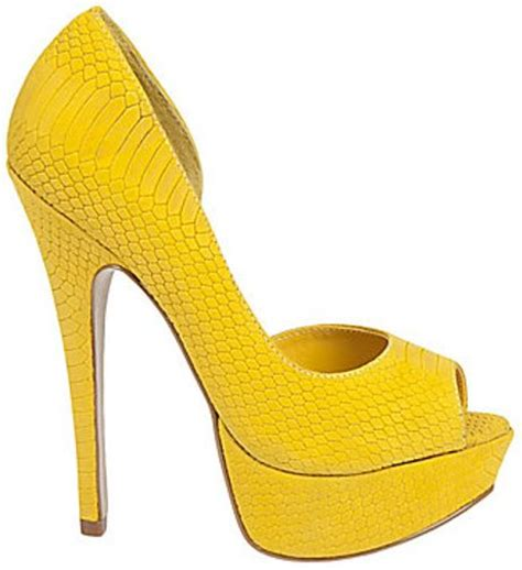 steve madden lifyd in yellow yellow nubuck lyst