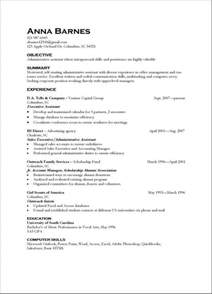 resume format resumes exles skills abilities