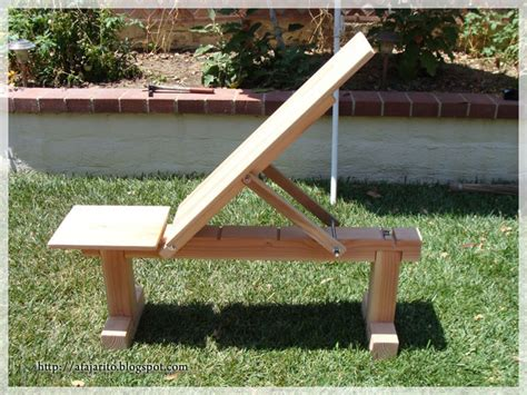 wooden exercise bench diy blog diy weight bench 5 position flat incline