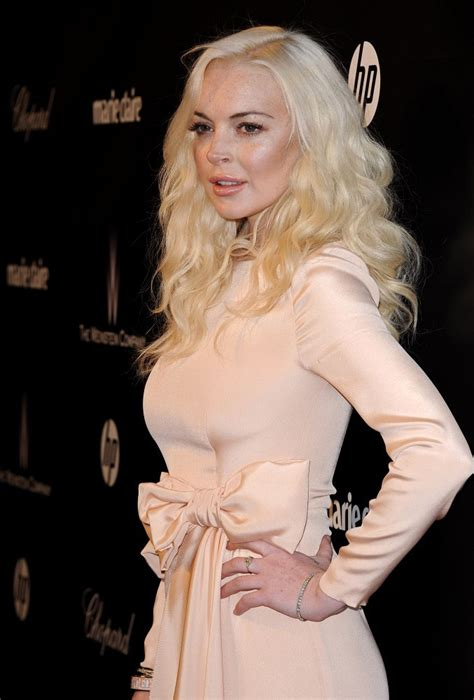 Style Lindsay Lohan Fabsugar Want Need 4 by Lindsay Lohan In The Weinstein Company 2012 Golden Globes