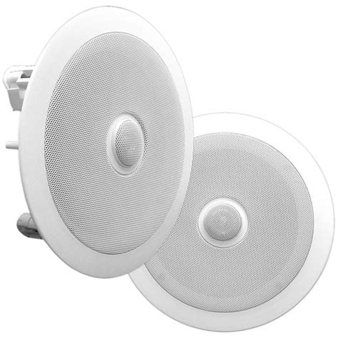 pyle pro pdic60 6 5 quot two way in ceiling speaker pdic60 b h
