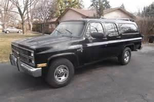 1984 chevrolet k20 suburban for sale in mount prospect il