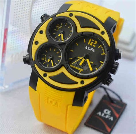 Jam Tangan Alfa Original A 06 casio g shock kw jam alfa 047 time plus