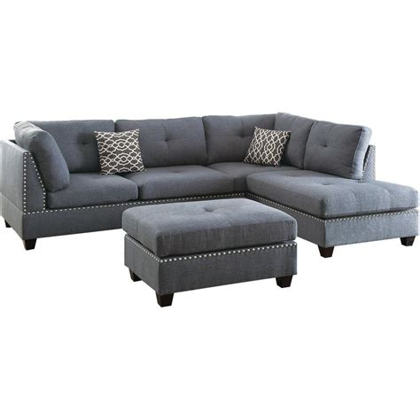 sectional with ottoman gray sectional sofa with ottoman cabinets matttroy