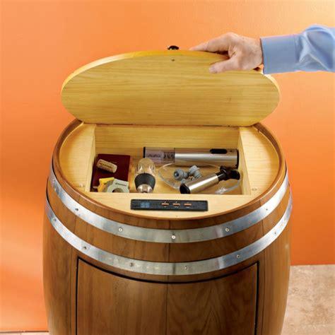 Unique Home Decor Catalogs by Wine Barrel Refrigerator The Green Head