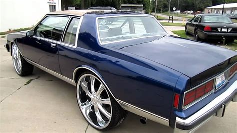 87 chevy caprice on 28 quot s whole car done by xcluzive