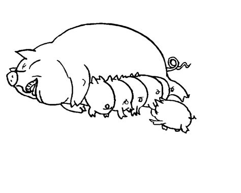 Pig Coloring Pages by Free Printable Pig Coloring Pages For Animal Place