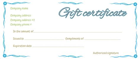 What To Do With Borders Gift Cards - gift certificate gallery gift certificate templates