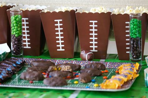 Skittles Decorations by Football Ideas For Not Quite Susie Homemaker