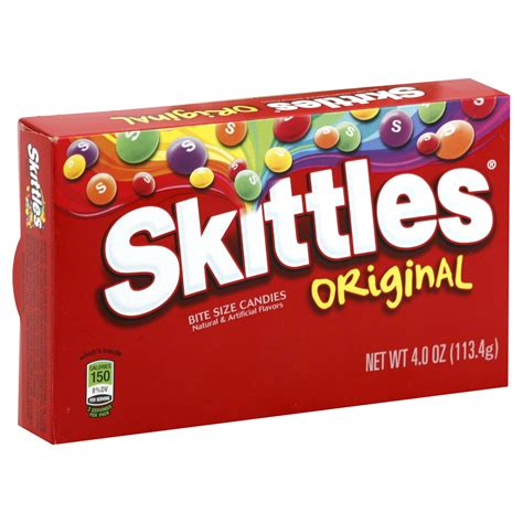 Discount See S Candy Gift Card - skittles candies bite size original 4 0 oz 113 4 g