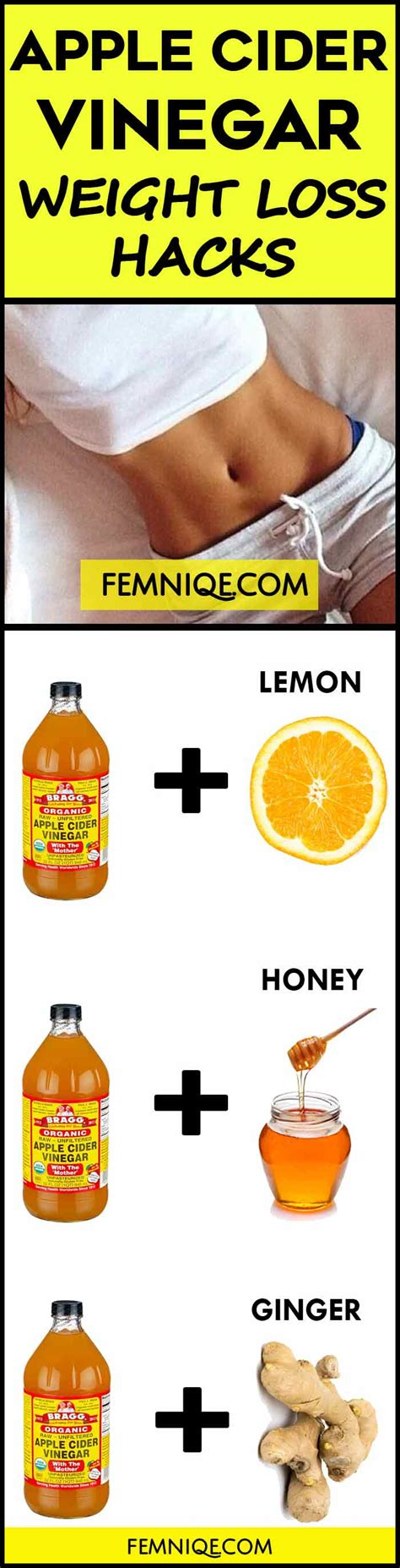 Can You Take Drop Slim While Doing The Detox Trio by How To Use Apple Cider Vinegar For Weight Loss Femniqe