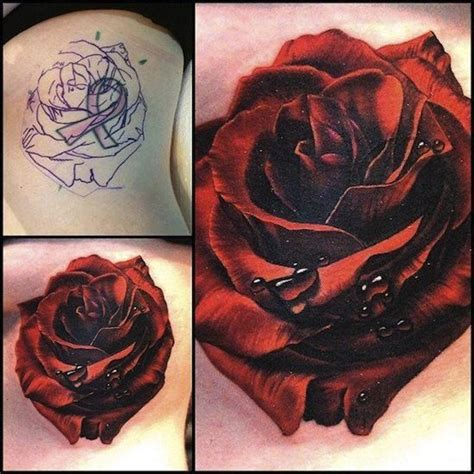 rose tattoo coverups 17 best images about cover up on ones