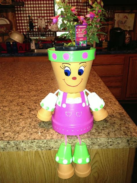 clay pot crafts for clay pot crafts snowman pictures