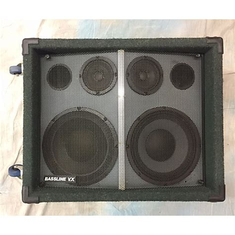 Used 2x10 Bass Cabinet by 2x10 Bassline Green Bass Cabinet Green