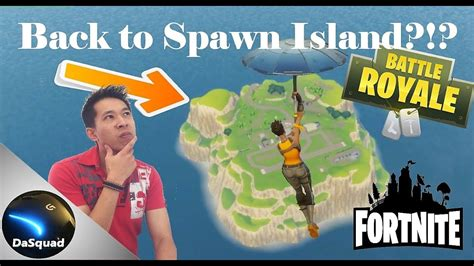 fortnite island can you return to spawn island fortnite battle royale