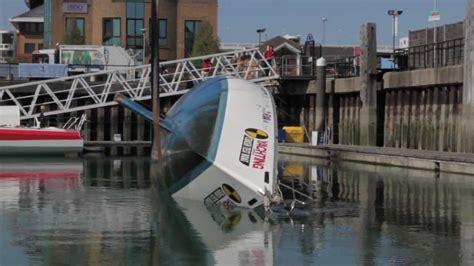 crash test boat yachting monthly crash test boat youtube
