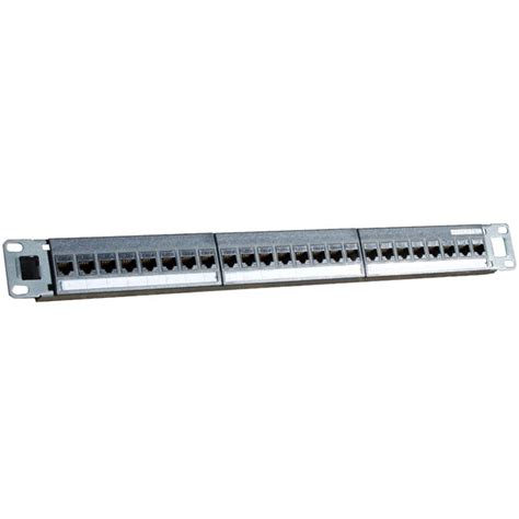 24 cat6 patch panel hyptertec patch panel cat6 24 jamell cables