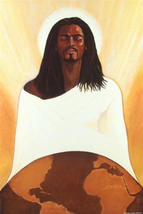 black jesus black jesus afrocentric art pinterest christ god
