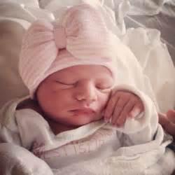 Baby girl hat newborn hospital hat baby girl newborn outfit newborn