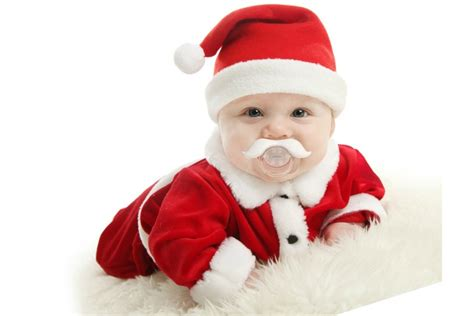 the santafier baby pacifier turn your baby into santa claus