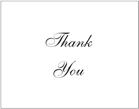 printable thank you card template 34 printable thank you cards for all purposes baby
