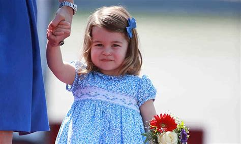 princess charlotte kate middleton reveals princess charlotte is learning to
