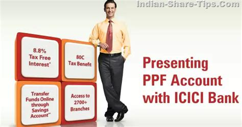who is the founder of icici bank icici bank ppf account service interest rate