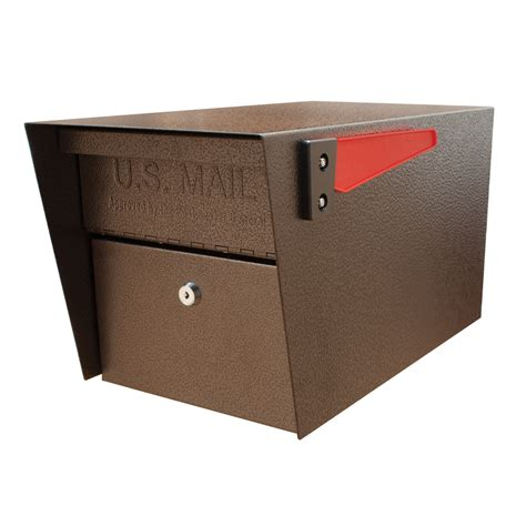 mailbox for shop mail mail manager 10 75 in x 11 25 in metal