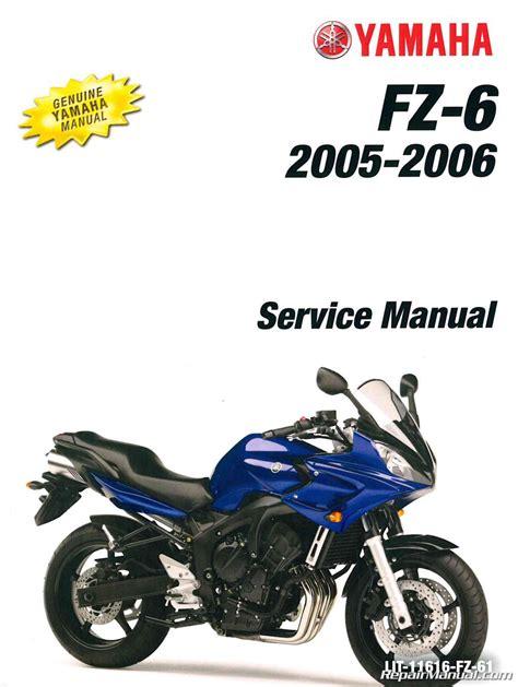 2006 yamaha fz6 wiring diagram free wiring