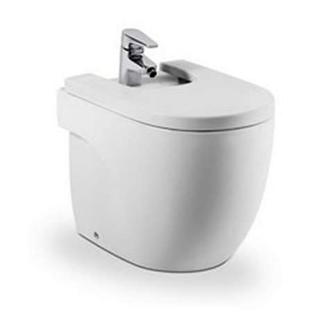 bidet pergamon roca meridian n floor standing back to the wall compact