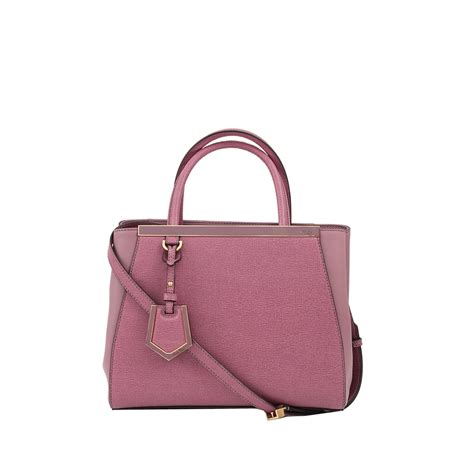 fendi 2jours small shopping bag in purple lilac lyst