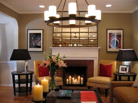 decorating living room with fireplace hot fireplace design ideas hgtv
