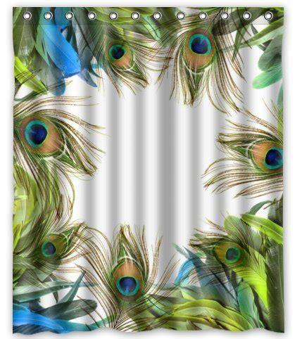 peacock feather curtain fabric unique custom fashionable design peacock feather