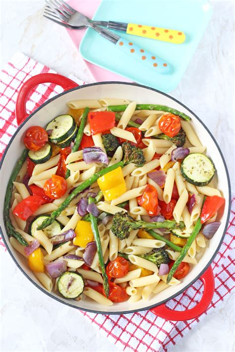 easy and delicious pasta salad fun fit and fabulous roasted vegetable pasta salad healthy ideas for kids
