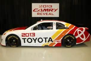 Toyota In Nascar 2013 Toyota Camry Nascar Sprint Cup Race Car Debuts