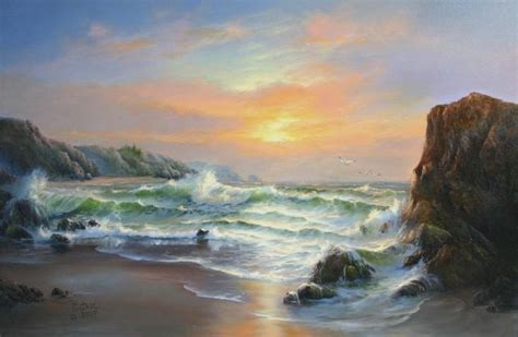 bob ross painting seascape 46 best images about joyce ortner on pictures