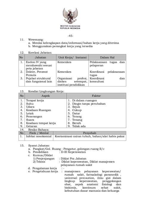 permenkes nomor 73 tahun 2013 tentang jabatan fungsional umum di keme